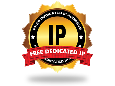 A free of cost Dedicated IP address